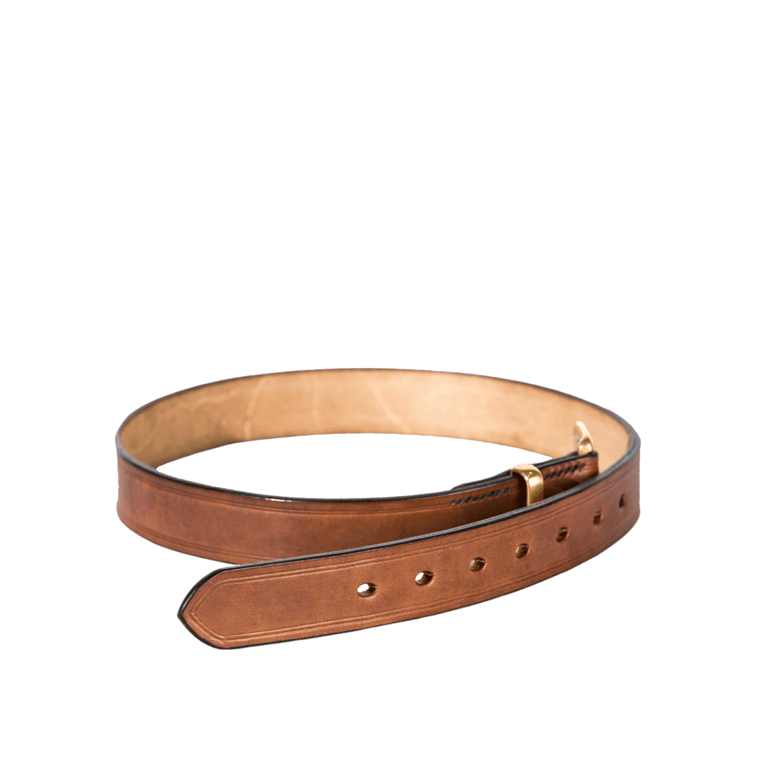 Oak bark bridle brown