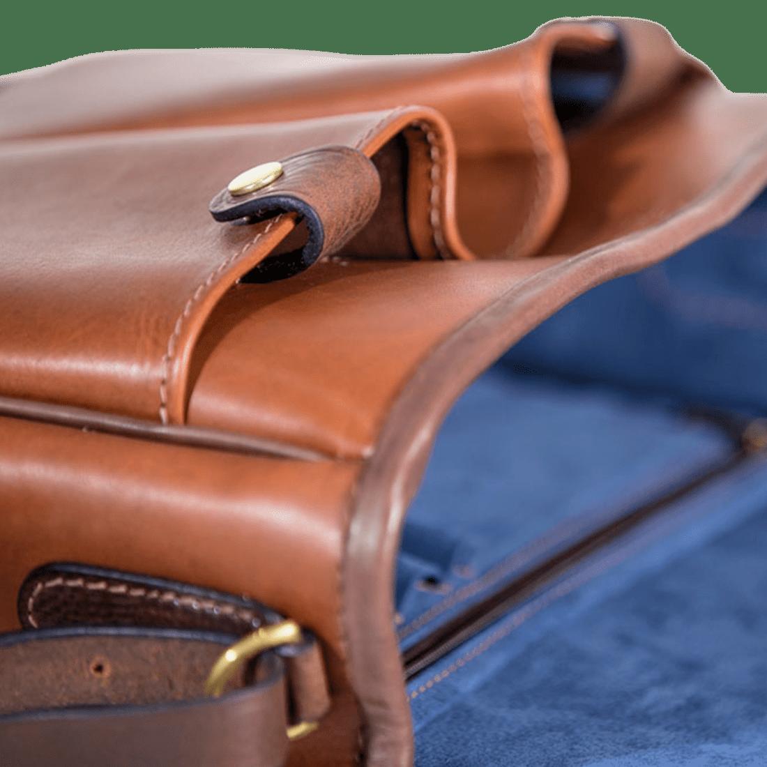 The post bag matt tan