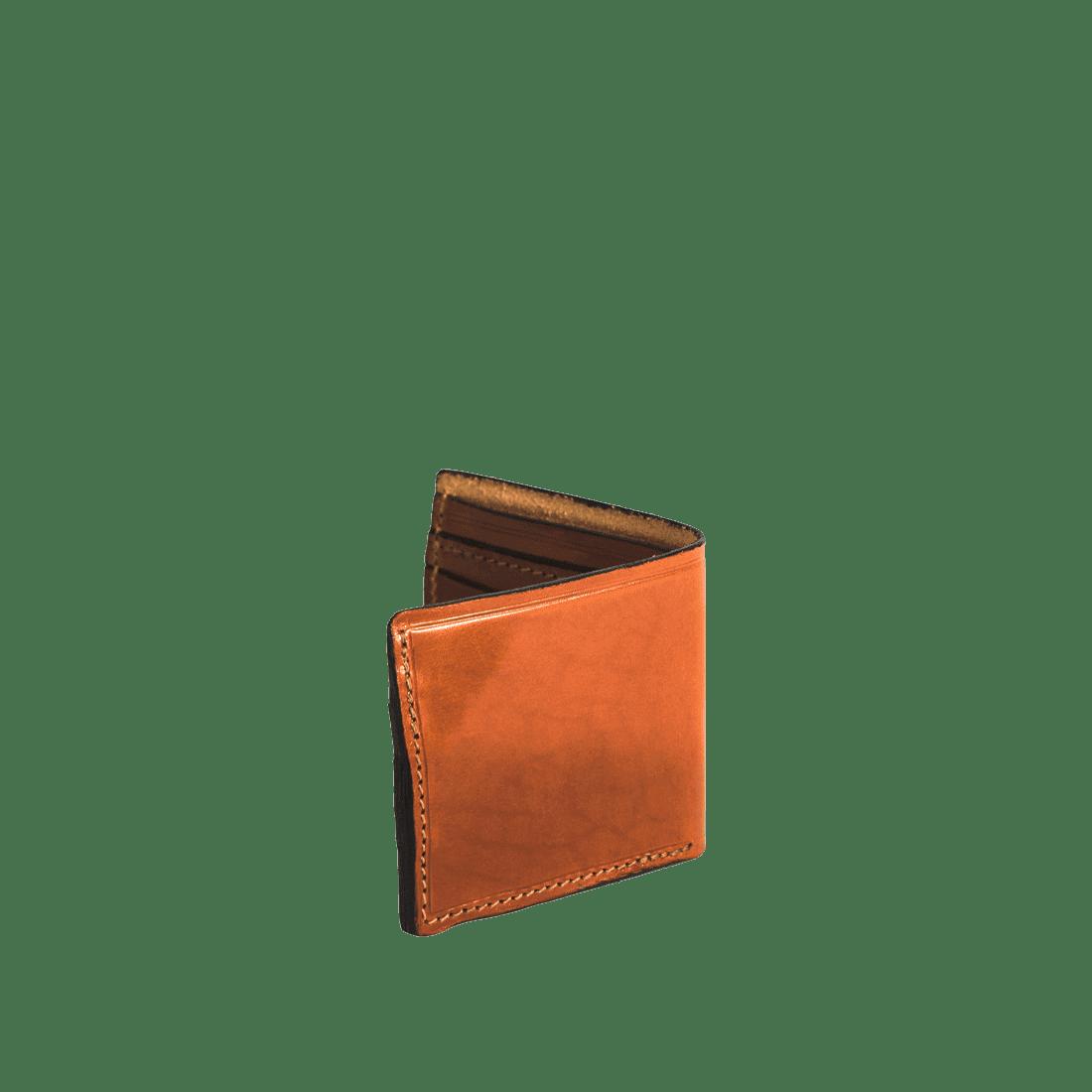 The Wallet shiny tan